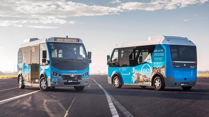 Karsan, Portekiz'e elektrikli minibüs satacak!