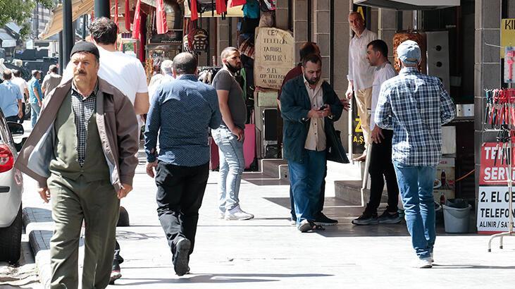 Diyarbakır'da kısıtlama sonrası yoğunluk