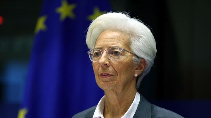 ECB Başkanı Lagarde: Euro Bölgesi ekonomisi 2020'de yüzde 8 ile 12 arasında küçülecek