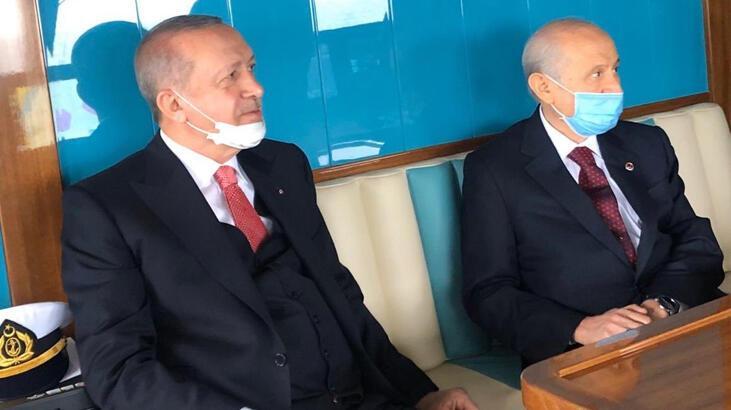 Son dakika I Erdoğan ve Bahçeli'den aylar sonra ilk kare!