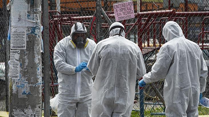 Ekvador'da corona virüs nedeniyle son 24 saatte 72 kişi öldü
