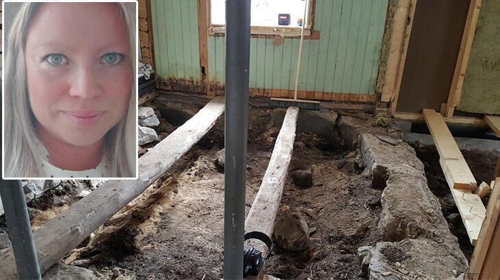 Norveç'te evli çift evlerini restore ederken Viking mezarına rastladı
