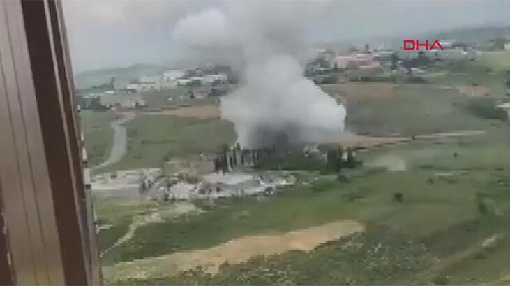 Son dakika! Başakşehir'de fabrikada patlama