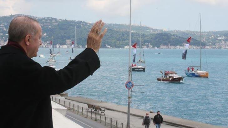 Son dakika... Cumhurbaşkanı Erdoğan'dan İstanbul'un Fethi mesajı!