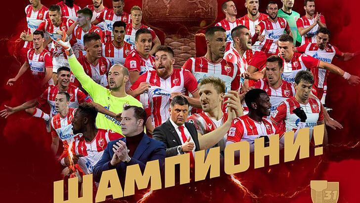 Sırbistan'da şampiyon Kızılyıldız oldu