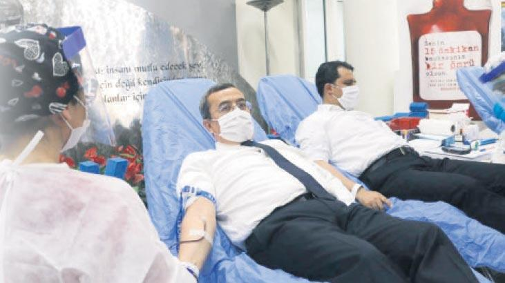 Konak'ta kan bağışı seferberliği