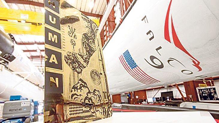 Triston Eaton'dan 'SpaceX'e özel eser