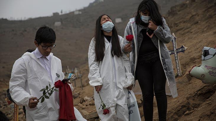 Peru'da son 24 saatte corona virüs nedeniyle 141 kişi öldü