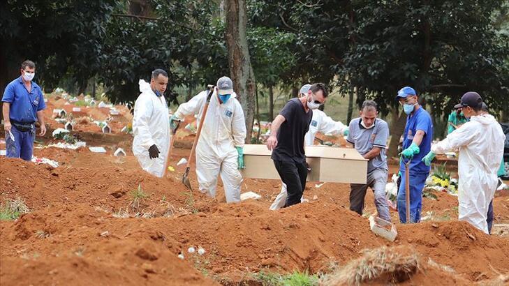 Son dakika | Brezilya'da corona virüs nedeniyle 956 kişi daha hayatını kaybetti!