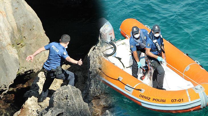 Son dakika: Antalya'da ekipleri harekete geçiren olay! Denize atladı, gözden kayboldu