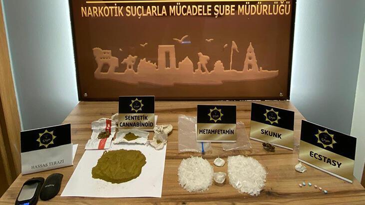 Çanakkale'de uyuşturucu ticaretine 2 gözaltı