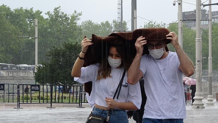 Son dakika... Meteoroloji'den kritik uyarı! Sağanak yağış için saat verildi