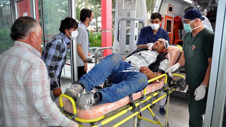 Kayseri'de silahlı kavga: 3 yaralı