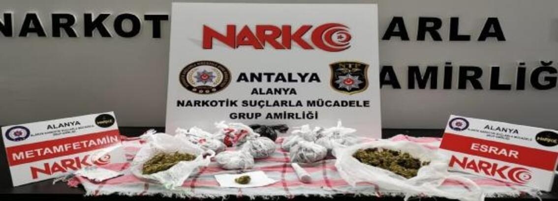 Parkta uyuşturucu alışverişine 2 tutuklama