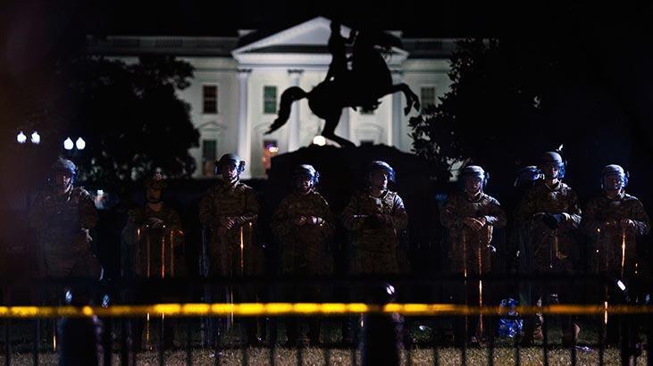 Ordu Washington'da! 1600 asker konuşlandırıldı