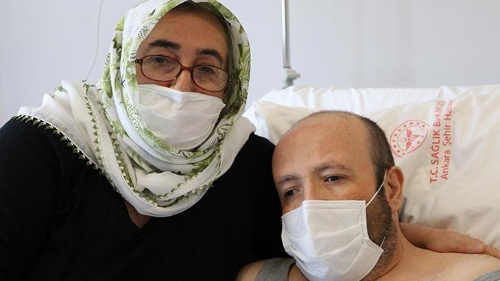 Bayramda çifte sevinç! 8 yıl sonra nakille sağlığına kavuştu