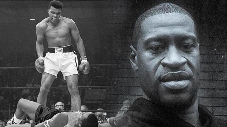 Muhammed Ali'den George Floyd'a ABD'de ırkçılık: 'Bana alışın'dan 'Nefes alamıyorum'a...