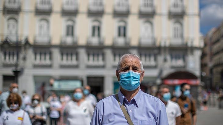İspanya'da corona virüs'ten ölenlerin sayısı 27 bin 128 oldu