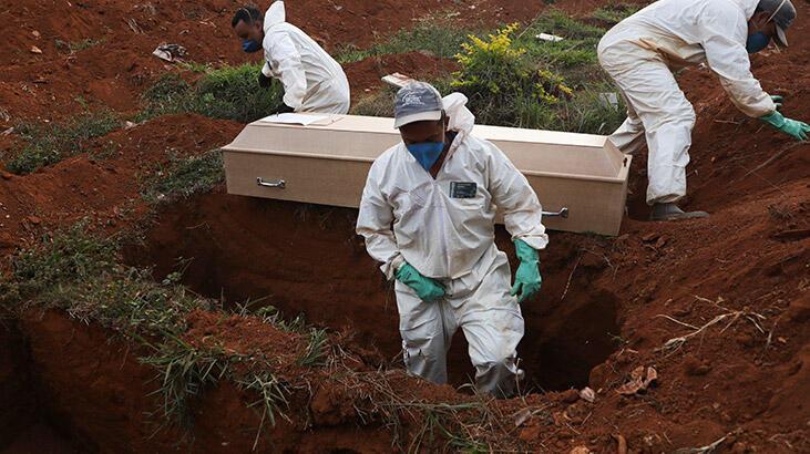 Son dakika... Corona virüs nedeniyle son 24 saatte toplam 2 bin 441 ölü!