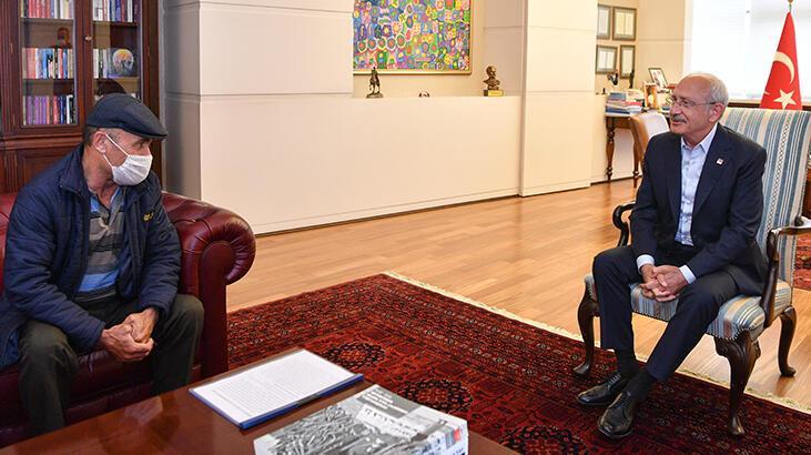 Kılıçdaroğlu, Çubuk şehidinin babasıyla görüştü