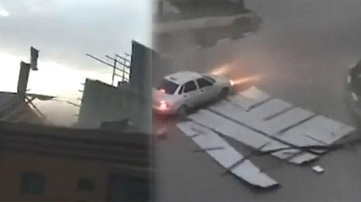 Çeçenistan'da kuvvetli fırtına: 11 yaralı