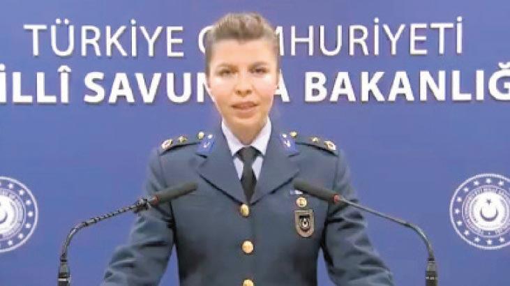 Savunma Bakanlığı'na ikinci kadın sözcü