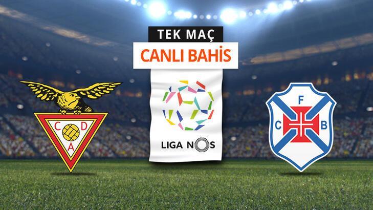 Aves - Belenenses maçı Tek Maç ve Canlı Bahis seçenekleriyle Misli.com'da