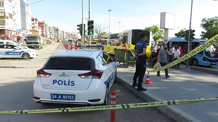 Kadıköy'de korkunç ölüm! Ayağı takılınca...