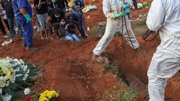 Son dakika... Corona virüs nedeniyle son 24 saatte Brezilya'da 1026, Meksika'da 625 kişi öldü