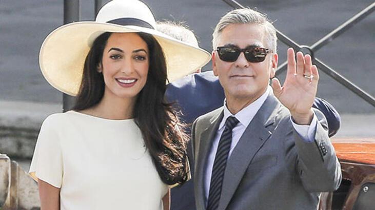 George-Amal Clooney çifti Suriyeli çocuklar için okul yaptırdı