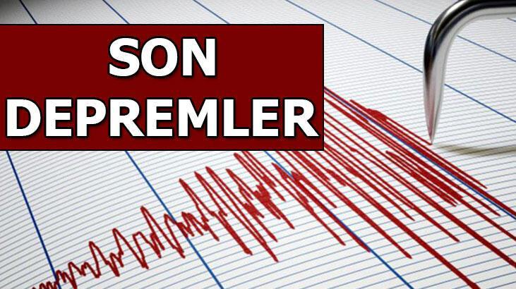 Deprem mi oldu? Son depremler listesi: AFAD, Kandilli Rasathanesi son dakika haberleri