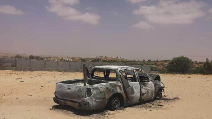Trablus yakınlarında Hafter milislerinin mayını patladı