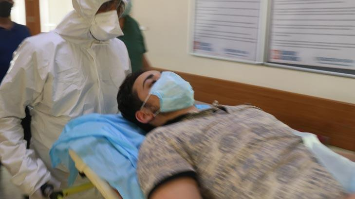 Sağlık Bakanı Koca devreye girdi! Omurgası kırılan genç Türkiye'ye getirildi