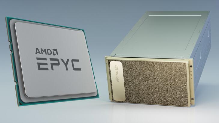 AMD EPYC işlemci ekosistemi NVIDIA DGX A100 entegrasyonu ile büyümeye devam ediyor