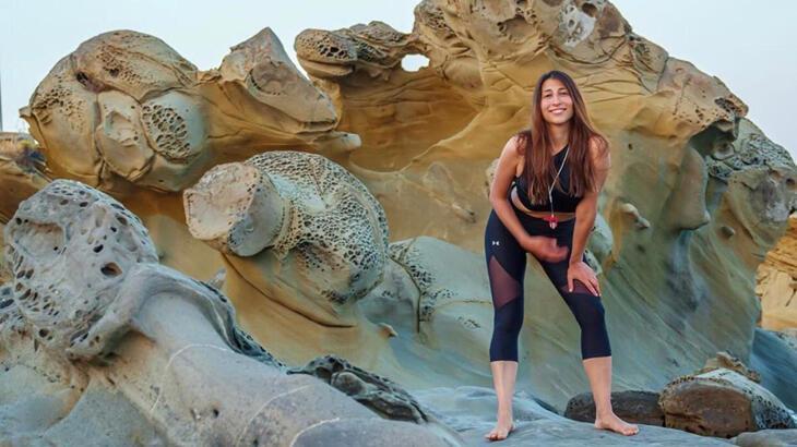 Milli sporcu Fatma Uruk, Meksika'da fırtınanın ortasında kaldı