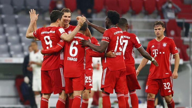 Bayern Münih - Eintracht Frankfurt: 2-1