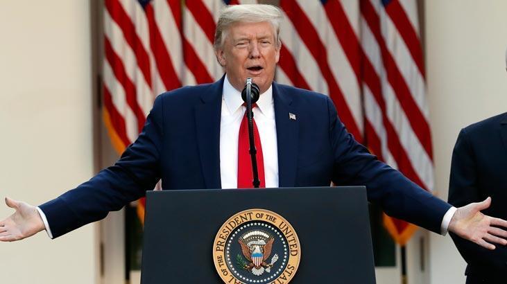 Trump üç buçuk ay aradan sonra başlıyor