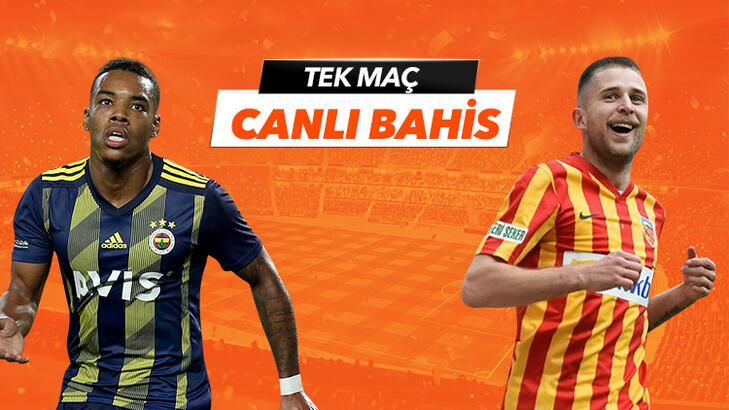 Fenerbahçe - Kayserispor maçı canlı bahis heyacanı Misli.com'da