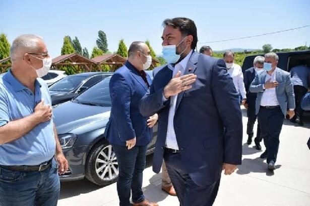 AK Parti İl Başkanı Başaran, Manyas'ı ziyaret etti