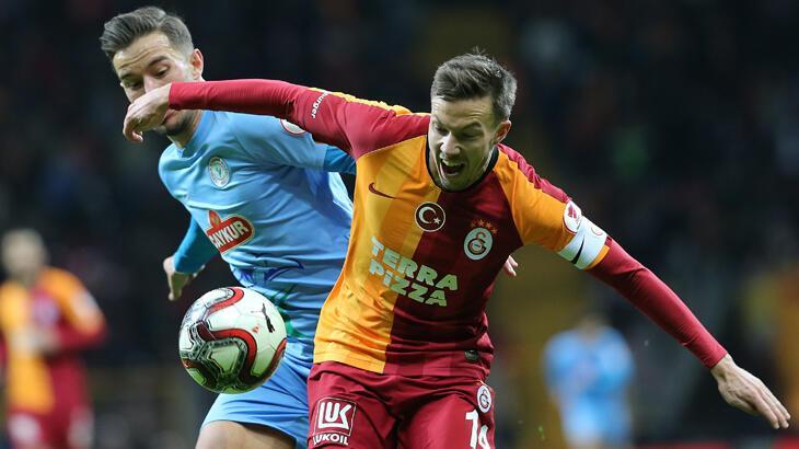 Galatasaray, Çaykur Rizespor'a konuk olacak