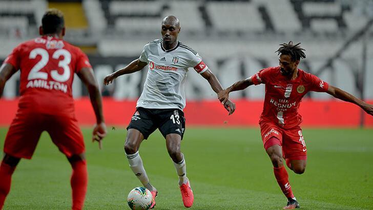 Beşiktaş - Antalyaspor: 1-2