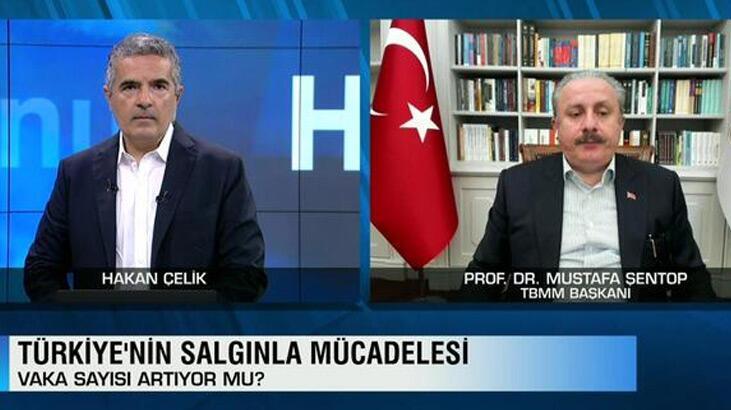 Son dakika: TBMM Başkanı Mustafa Şentop'tan Ayasofya açıklaması