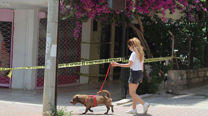 Antalya'da 10 dairenin bulunduğu bina karantinaya alındı