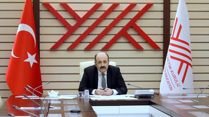 YÖK Başkanı Saraç 'araştırma ve aday araştırma' üniversitesi rektörleriyle görüştü