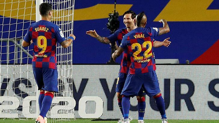 Barcelona, Leganes'i 2-0 mağlup etti! Messi yine yazdı...