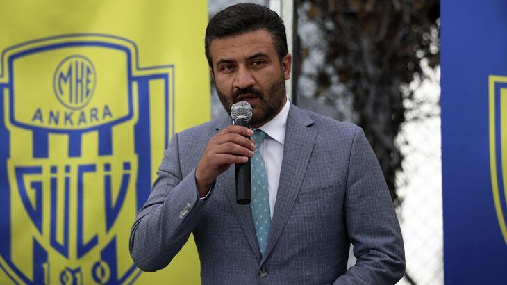 """MKE Ankaragücü Başkanı Mert: """"Bütün maçlara galibiyet için  çıkacağız"""""""