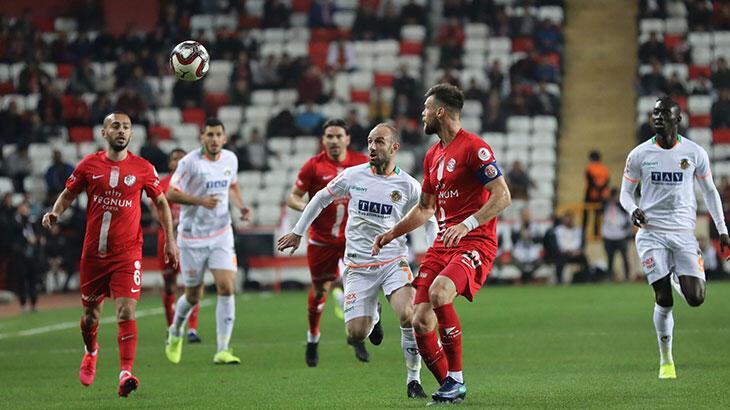 Antalyaspor'da hedef kupa