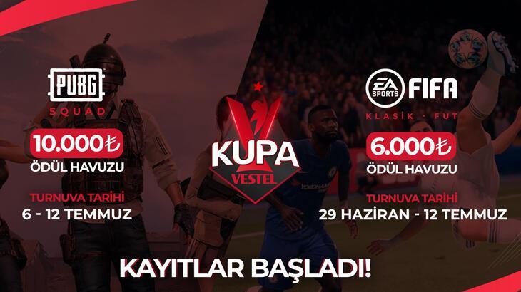 Espor Turnuvası Kupa Vestel başlıyor