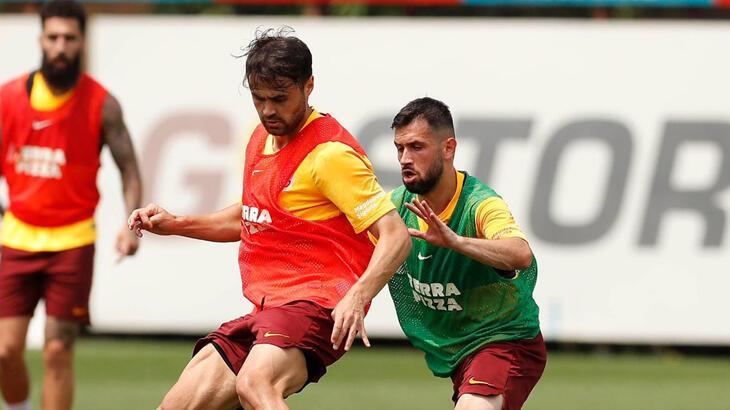Galatasaray'da Gaziantep FK maçı hazırlıkları devam ediyor