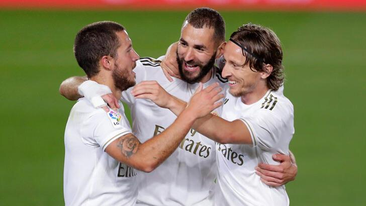 Real Madrid-Valencia: 3-0